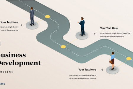 Business Roadmap Template | Free Download Infographic