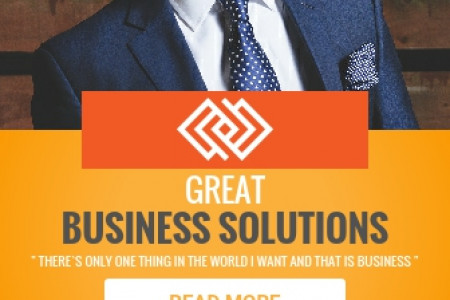 Business Solutions Infographic