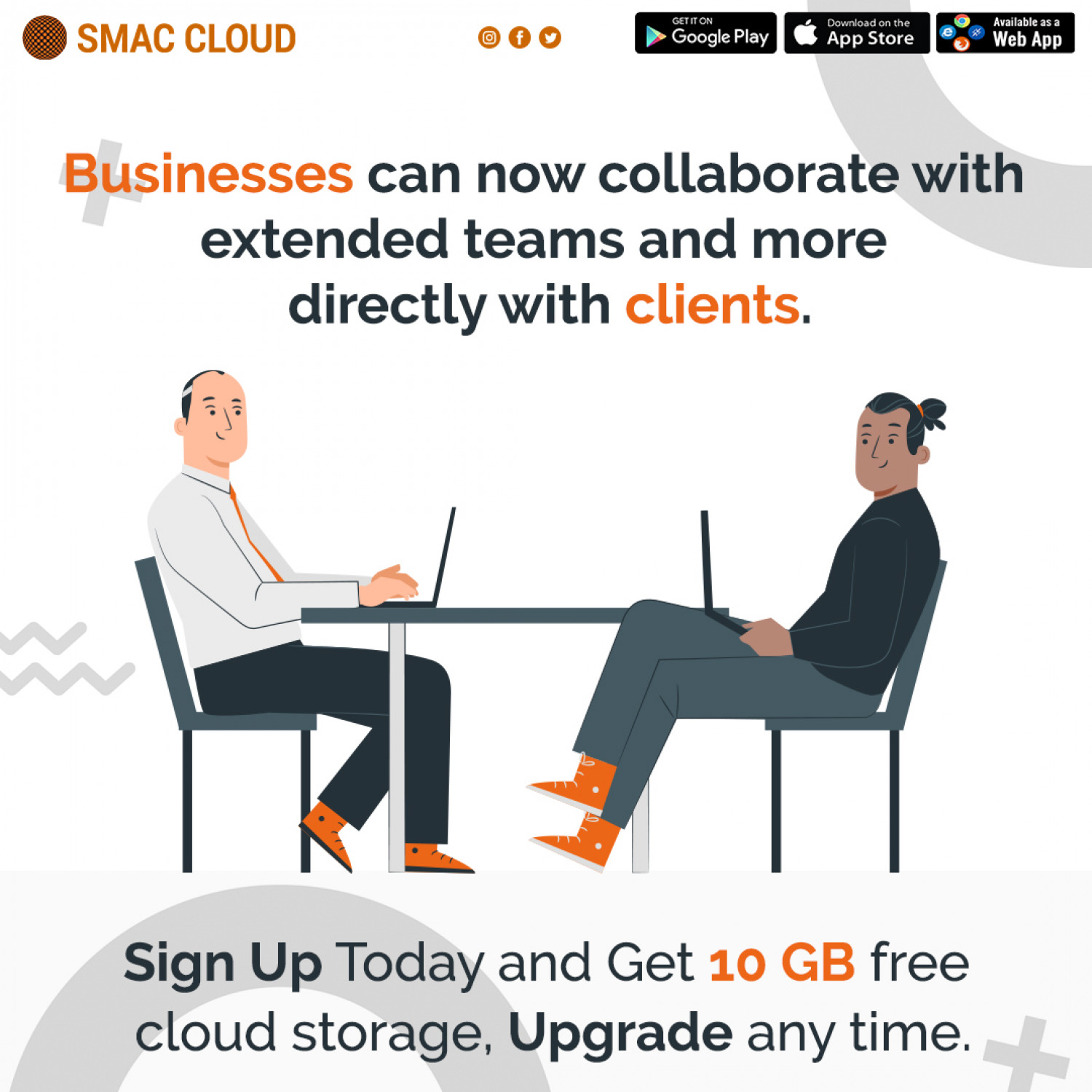 Businesses can now collaborate with extended teams and more directly with clients. Infographic