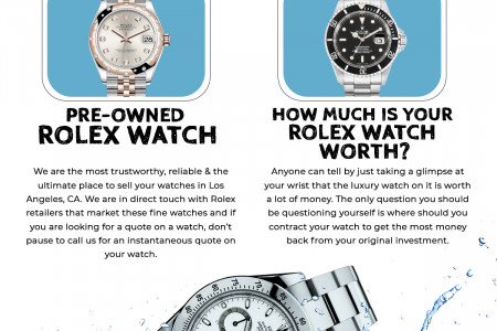 Buy & Sell Luxury Watches Los Angeles,CA | Luxtimecenter Infographic