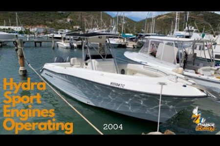 Buy 2004 Hydra Sports 2800 CC Vector (Thor's Hammar) at Live Boat Auction Infographic