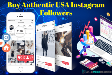 BUY AUTHENTIC USA INSTAGRAM FOLLOWERS FOR MAXIMUM ENGAGEMENT Infographic
