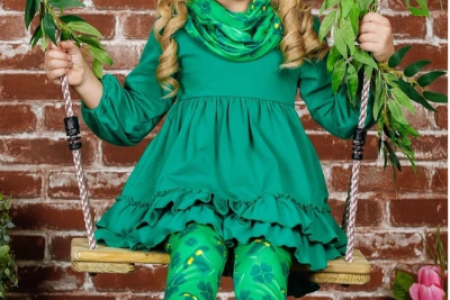 Buy Beautiful St.Patrick's Day Outfits For Kids. Infographic