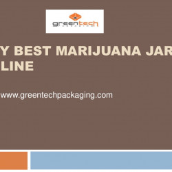 Buy Best Marijuana Jars Online - Greentechpackaging.com | Visual.ly