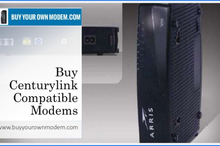 Buy Centurylink Compatible Modems Infographic