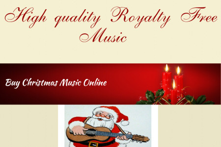 Buy Christmas Music Online Infographic
