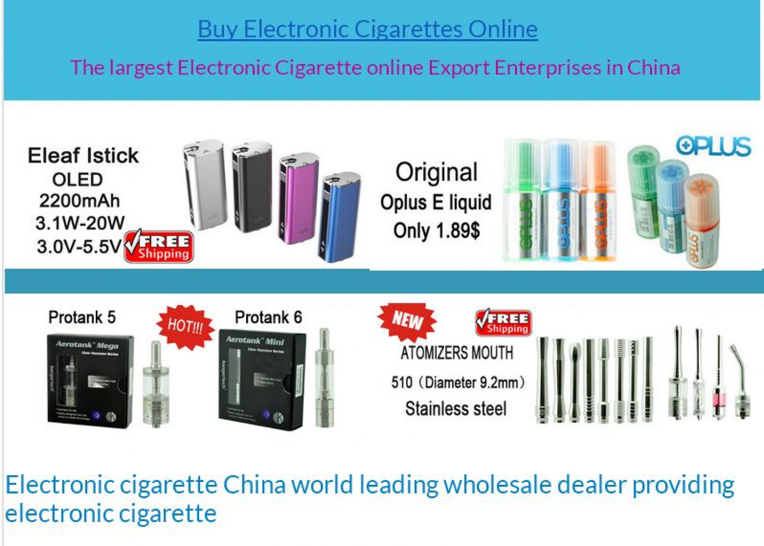 Buy Electronic Cigarettes Online | Visual ly