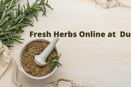 Buy Fresh Herbs Online at Best Prices in Dubai Infographic