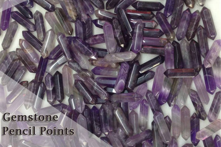 Buy Gemstone Pencil Points – Kabeer Agate Infographic