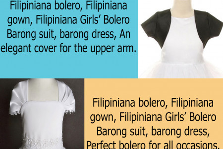 BUY GIRL'S BEAUTIFUL BOLERO ONLINE AT BARONGRUS Infographic