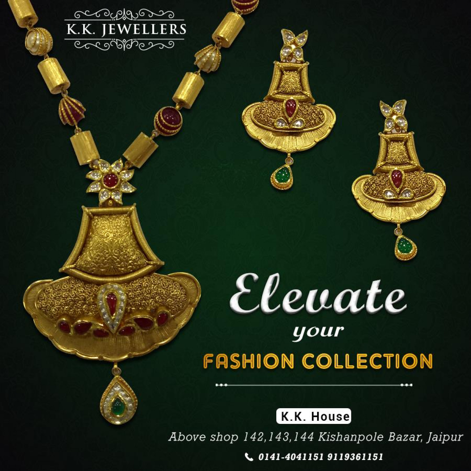 Buy Gold Necklace from K.K. Jewellers Infographic