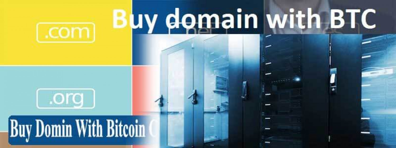 Buy hosting with Bitcoin Infographic