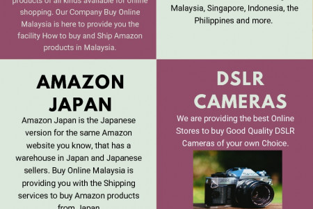 Buy Online Shopping Websites in Malaysia – Buy Online Malaysia Infographic