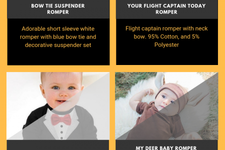 Buy Online Trendy Baby Boy Clothes Infographic