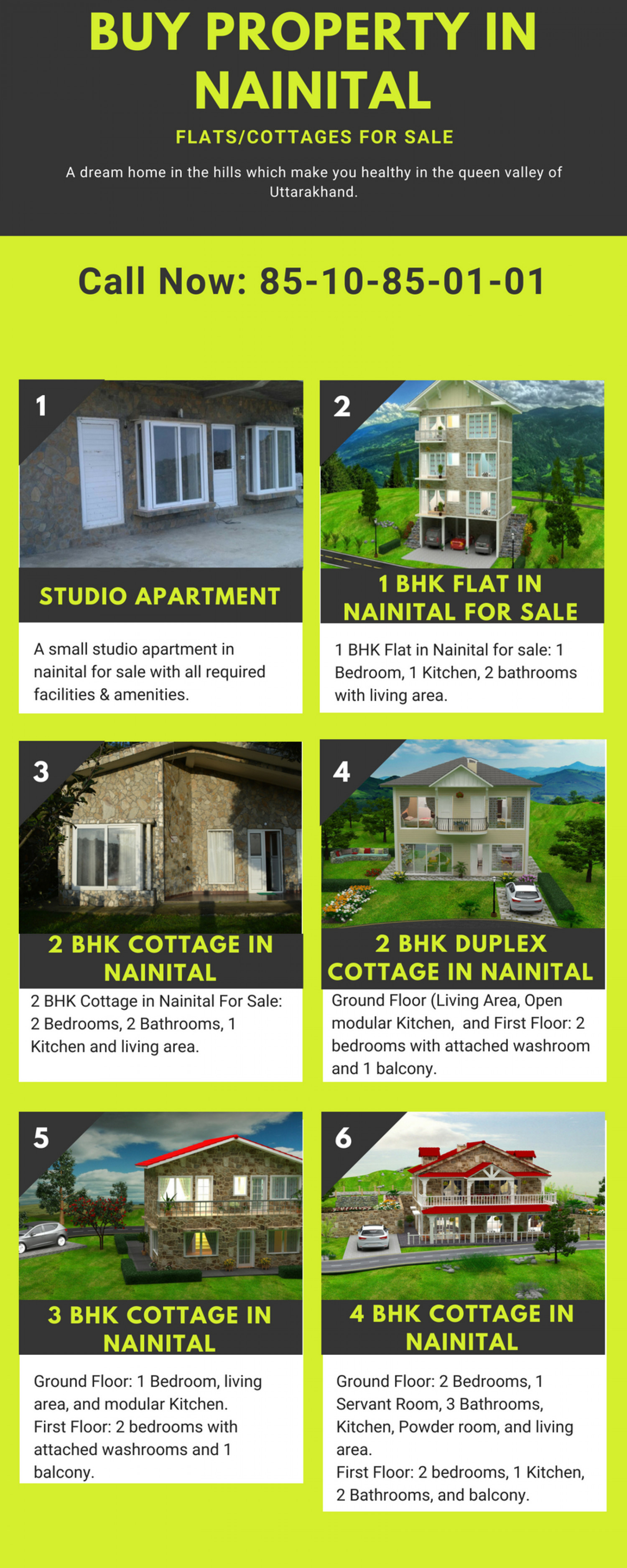 Buy Property in Nainital Infographic