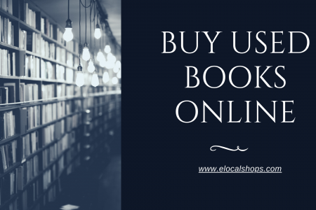Buy Used Books Online Infographic