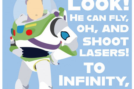 Buzz Lightyear Printable Poster Infographic