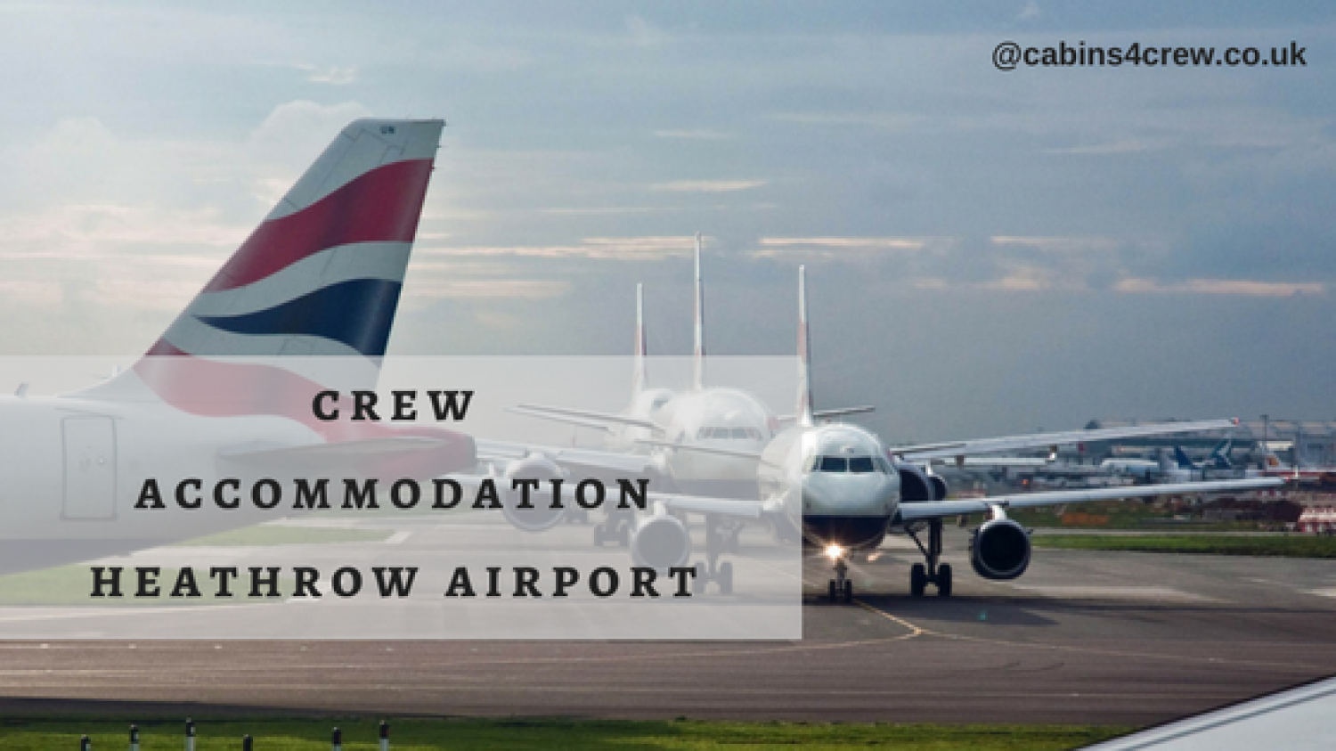 Cabins4Crew Is The Most Reliable Crew House Heathrow That Has The Most Luxurious Facilities Infographic