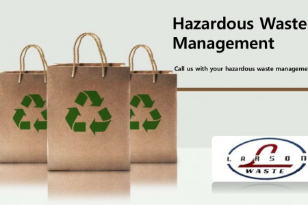 Call us with your hazardous waste management needs Infographic