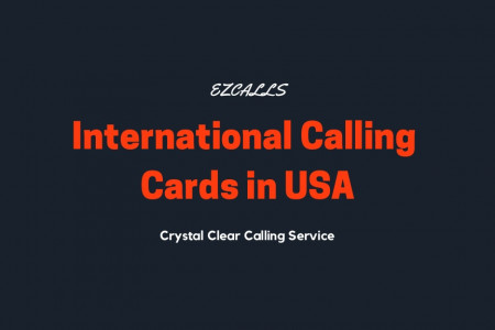 Calling Cards & Phone Cards in USA With Money Saving Features Infographic