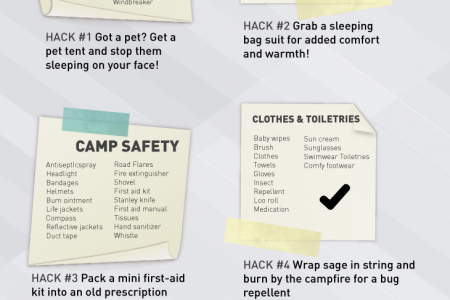 Camping Checklist Infographic Infographic