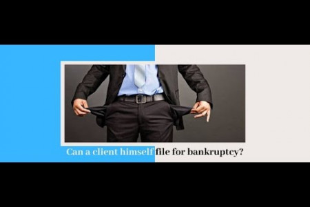 Can a client himself file for bankruptcy? | filing bankruptcy individually | Filing Bankruptcy Without Attorney Infographic
