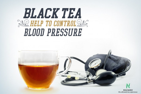 Can Black Tea Help to Control Blood Pressure Infographic