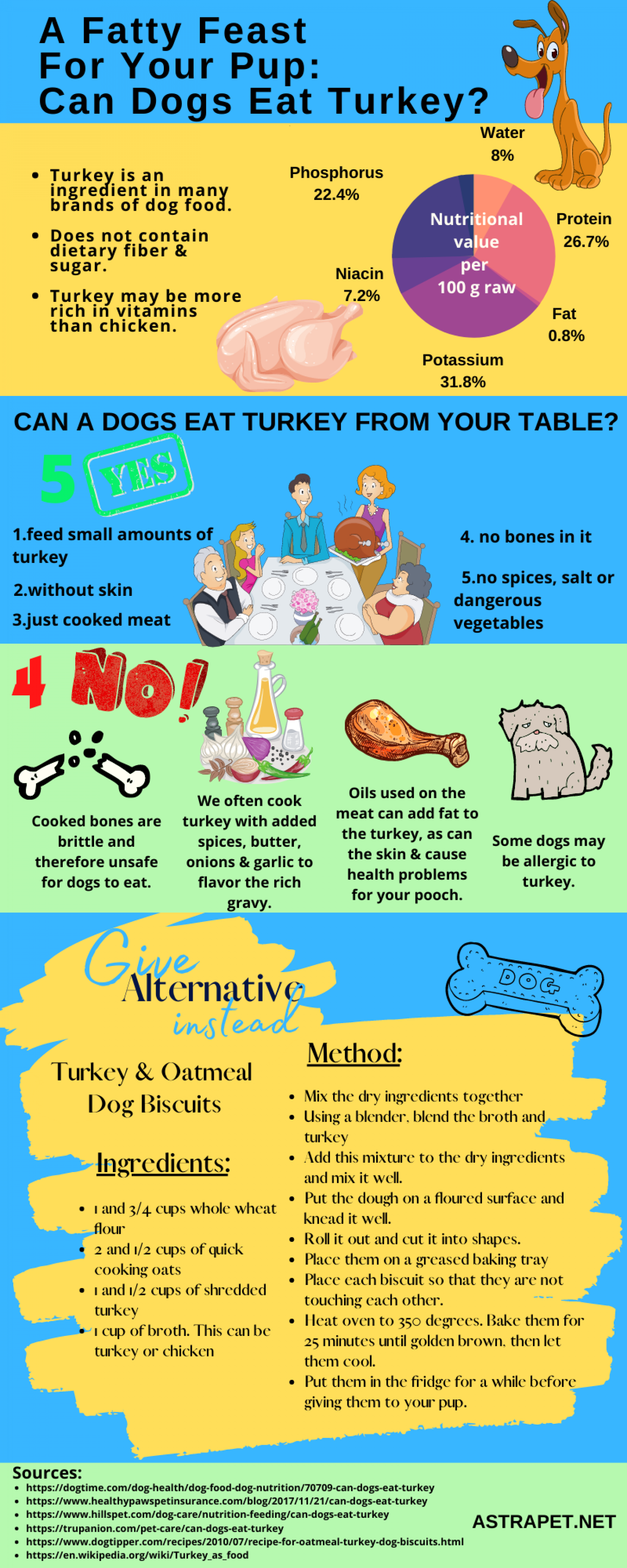 Can Dogs Eat Turkey? Infographic