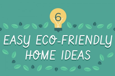 Can Eco-Friendly Home Ideas Really Be This Easy? Infographic