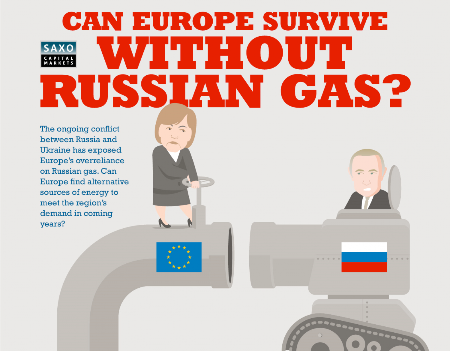 Can Europe Survive Without Russian Gas? Infographic