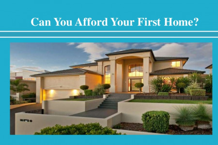 Can You Afford Your First Home Infographic