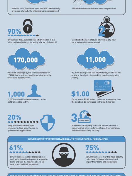 Can You Trust The Cloud ? Infographic