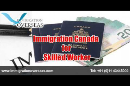 Canadian Immigration | Overseas Work | Visa Services Infographic