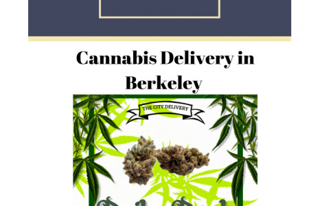 Cannabis delivery in Berkeley  Infographic