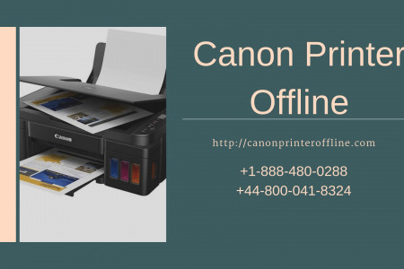 Canon Printer Not Responding – Call Us Now Infographic