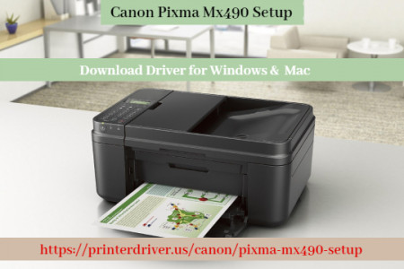 Canon Pixma Mx490 Setup - Download Driver for Windows, Mac Infographic