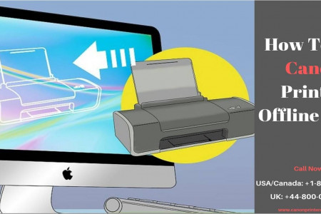 Canon Printer Is Offline on Mac | Call +1-888-480-0288 Infographic