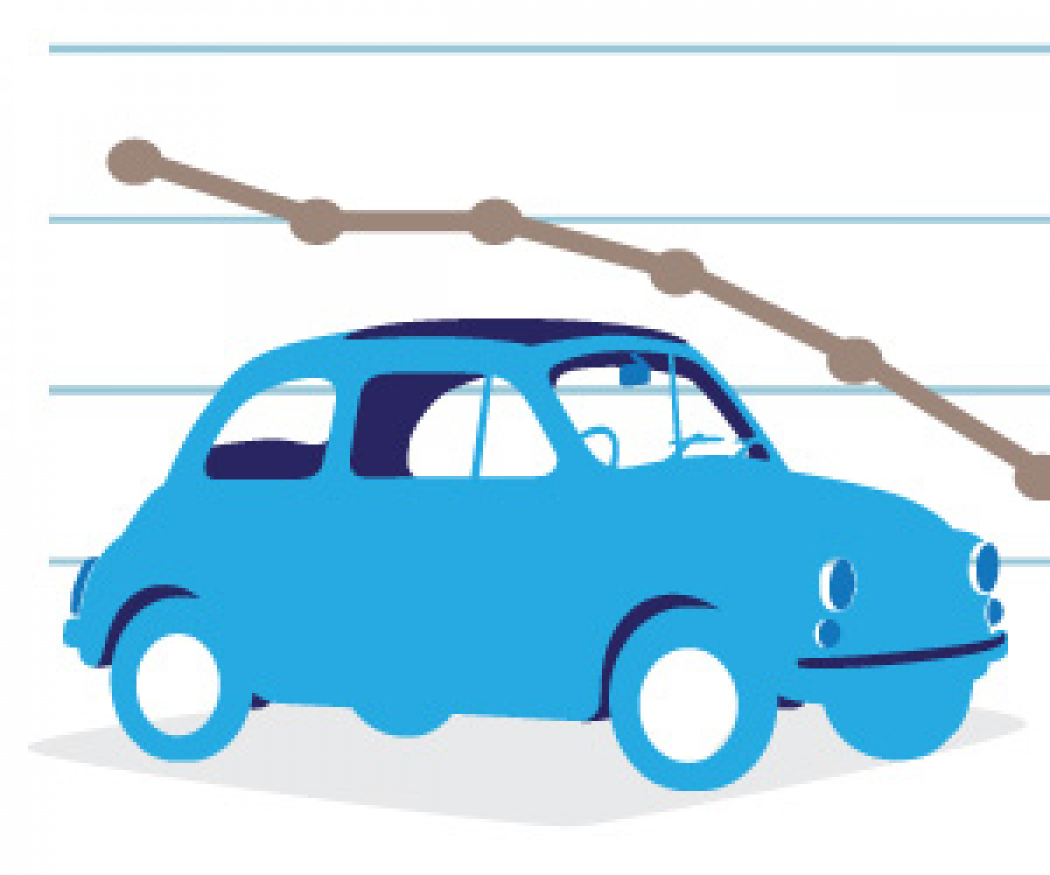 Car buying index timeline Infographic