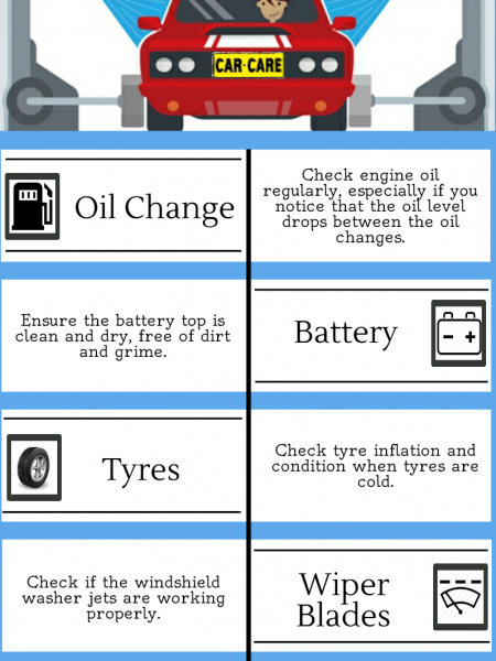 Car Care Checklist Infographic