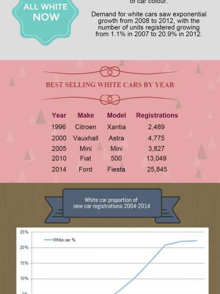 Car Colour Popularity  Infographic