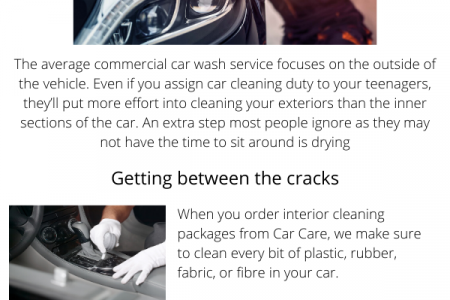 Car Detailing of The Forgotten Parts of Your Car Infographic
