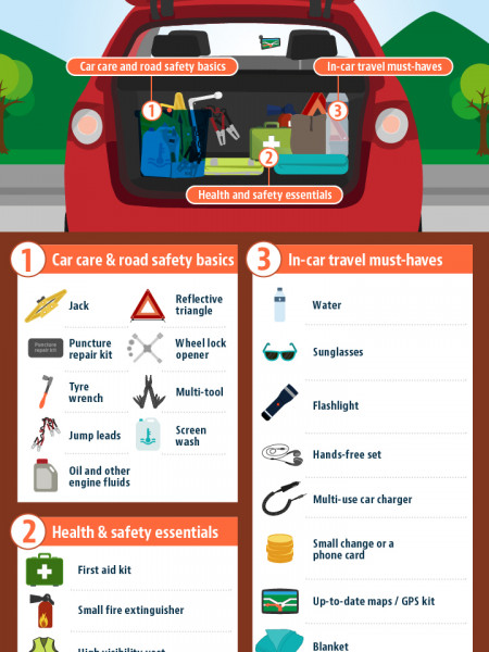 Car Maintenance Basics Infographic