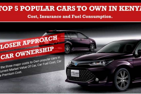 Car Ownership Cost For Popular Cars In Kenya - Series 1 (Infographic) Infographic