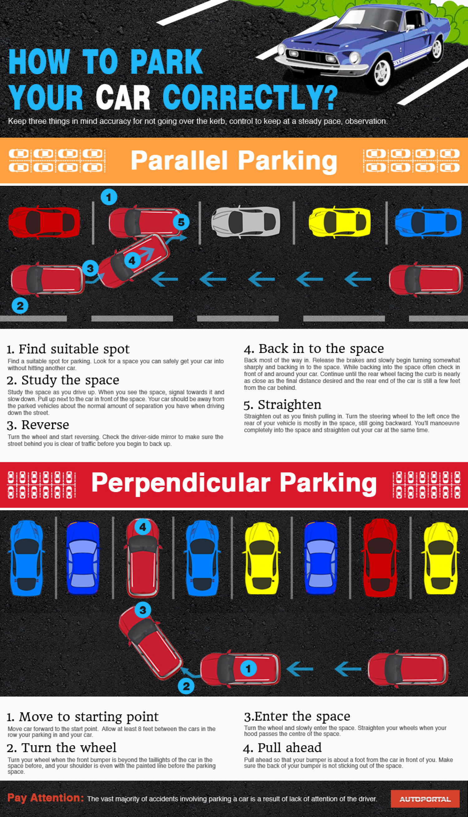 How to park the car Parking. How to park in reverse 84