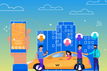 Car Pooling & Ride-Sharing Apps To Look Into 2020 Infographic