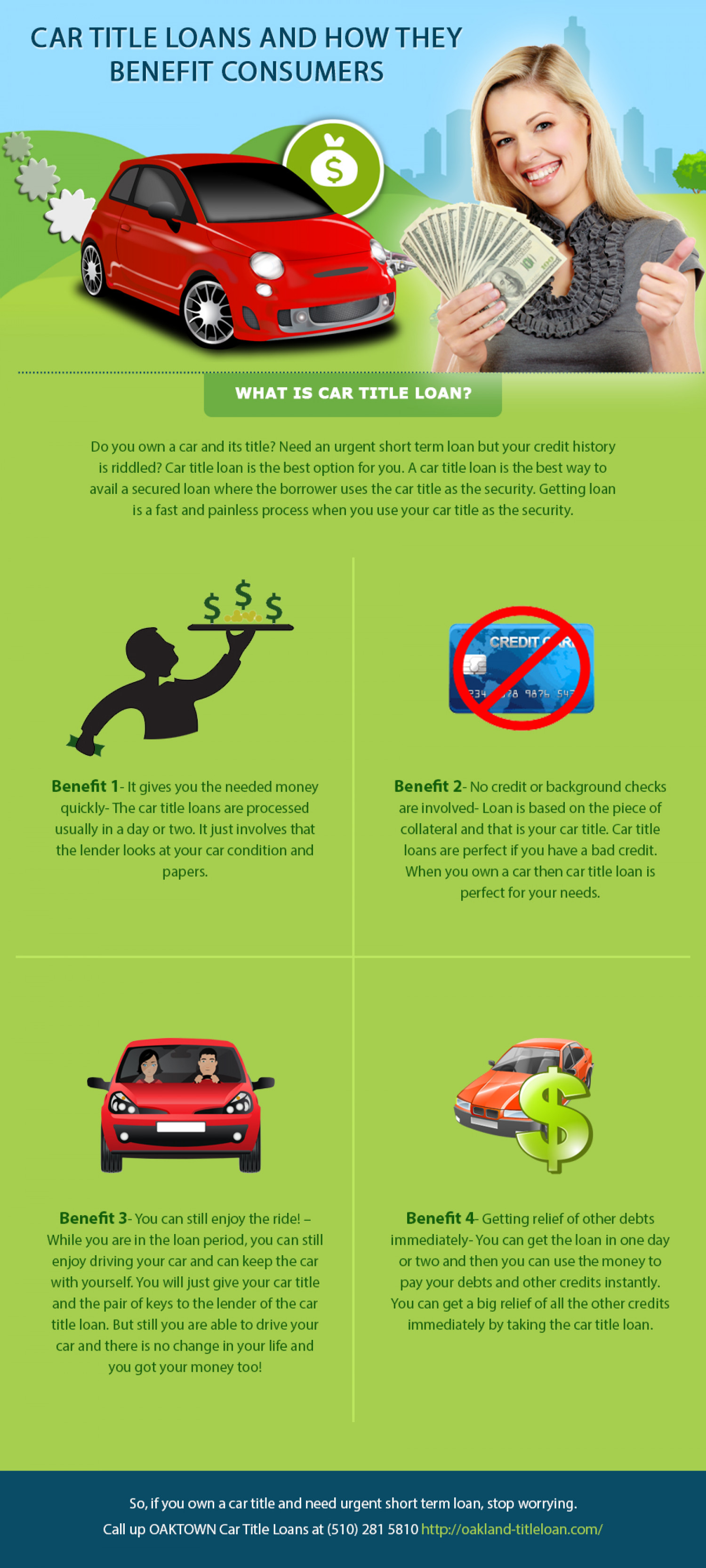 Car Title Loans And How They Benefit Consumers Visual Ly