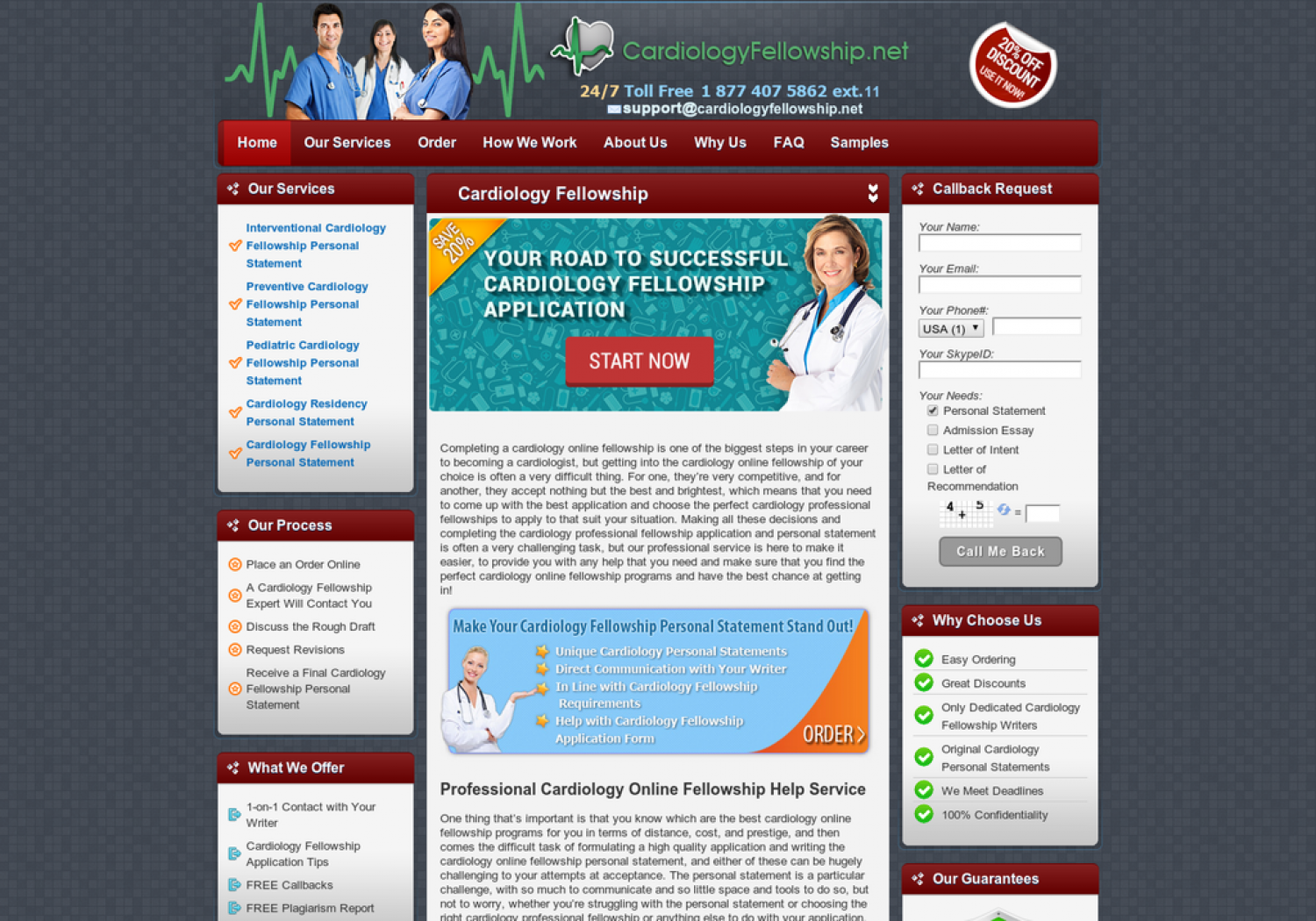Cardiology Online Fellowship Infographic