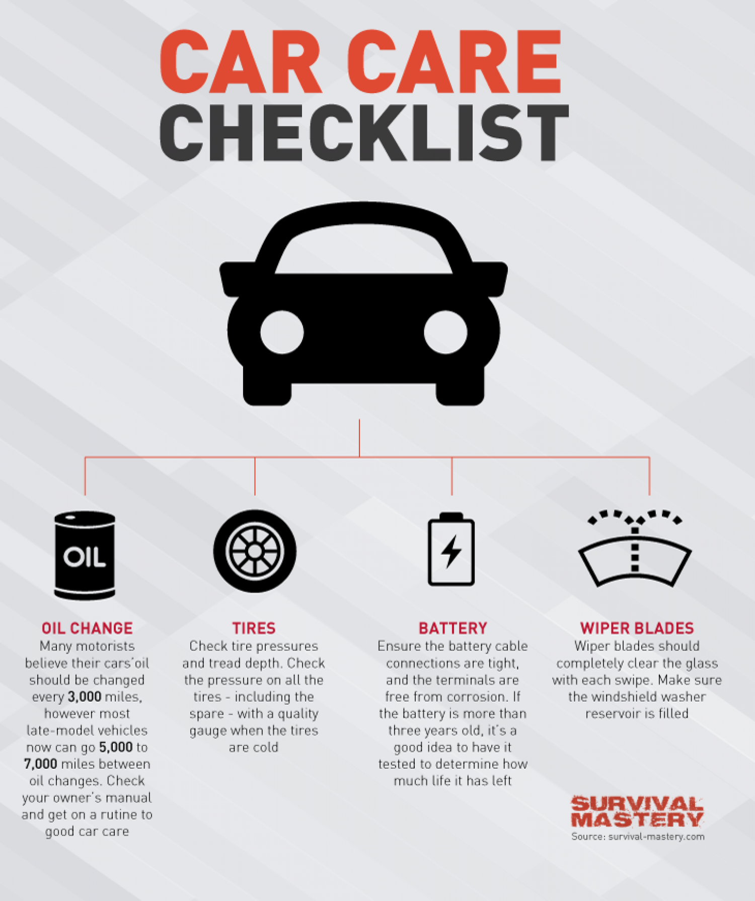Care Car Checklist Infographic Infographic