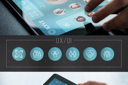 Caregivers' Network Brand and UX/UI Concept by Maxwell Alexander Infographic