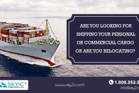 Cargo Shipping Service Infographic